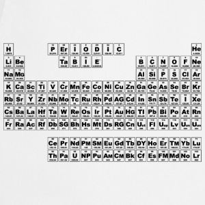 Periodic Table - Small (v3) T-Shirts - Cooking Apron