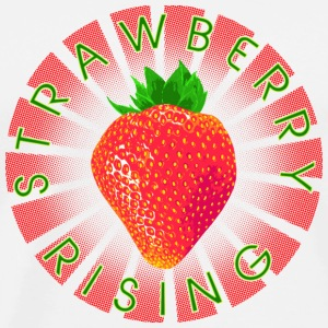 Strawberry Rising Circle Tops - Männer Premium T-Shirt