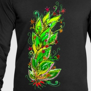 Jungle Flower, forest, summer, vacation, beach T-Shirts - Men's Sweatshirt by Stanley & Stella