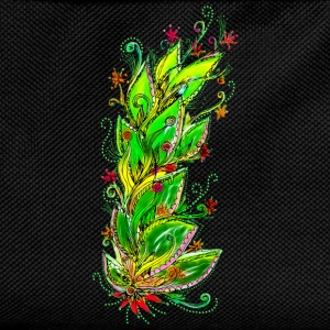 Jungle Flower, forest, summer, vacation, beach T-Shirts - Kids' Backpack