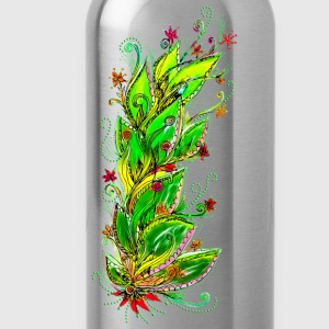 Jungle Flower, forest, summer, vacation, beach T-Shirts - Water Bottle
