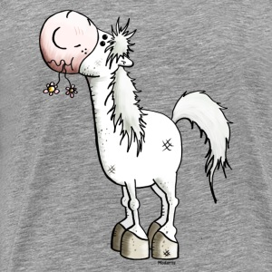 Dreamy Horse - Horses - Pony Long sleeve shirts - Men's Premium T-Shirt