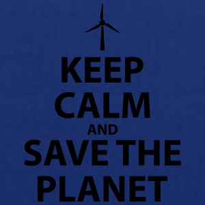 Keep Calm and Save The Planet - Tote Bag