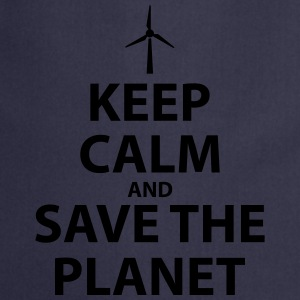 Keep Calm and Save The Planet - Cooking Apron