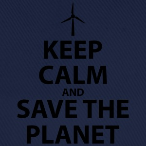 Keep Calm and Save The Planet - Baseball Cap