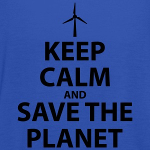 Keep Calm and Save The Planet - Women's Tank Top by Bella