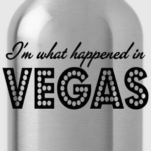 i'm what happened in vegas - Water Bottle