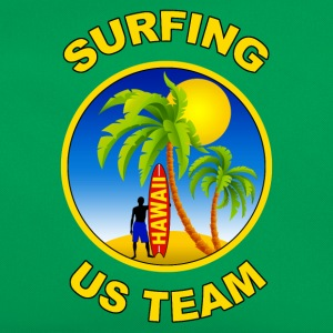 surfing us team Tee shirts - Sac Retro