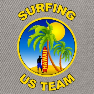 surfing us team Tee shirts - Casquette snapback