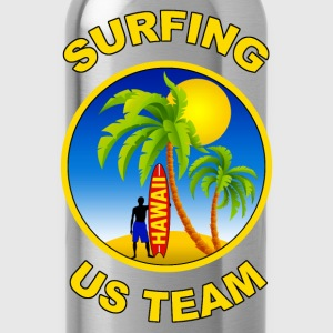 surfing us team Sweat-shirts - Gourde