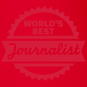 World's best Journalist T-Shirts - Baby Bio-Kurzarm-Body