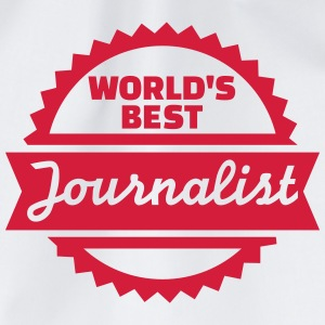 World's best Journalist T-Shirts - Turnbeutel