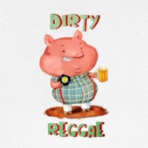 Dirty Reggae Pig Shirts - Baseball Cap