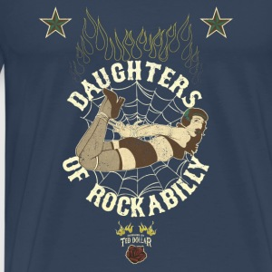 Daughters Of Rockabilly Vintage - T-shirt Premium Homme