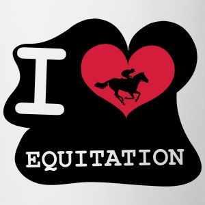I Love Equitation Tee shirts - Tasse