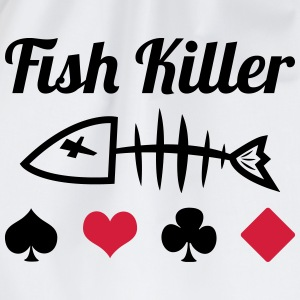 Poker : Fish Killer T-skjorter - Gymbag