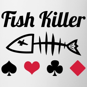 Poker : Fish Killer T-skjorter - Kopp