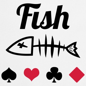 Poker : Fish T-shirts - Förkläde