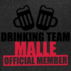 Drinking Team Malle T-shirts - Snapback Cap