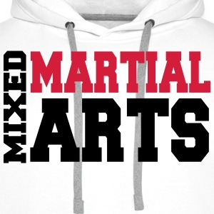 Mixed Martial Arts T-skjorter - Premium hettegenser for menn