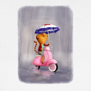 Rainy Scooter Kitty  Accessories - Baseball Cap