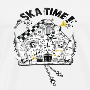 Ska Time Cuckoo Clock Underwear - Men's Premium T-Shirt