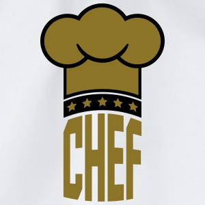 Chef's hat star Chief Gold logo T-Shirts - Drawstring Bag