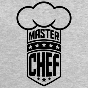 Cool Master Star Chef Design Logo T-Shirts - Men's Sweatshirt by Stanley & Stella