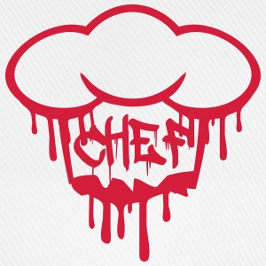 Chief graffiti blood chef's hat T-Shirts - Baseball Cap