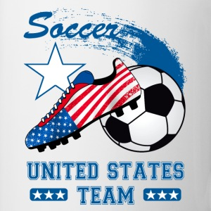 us soccer team Tee shirts - Tasse