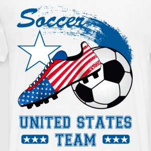 us soccer team Hoodies & Sweatshirts - Men's Premium T-Shirt