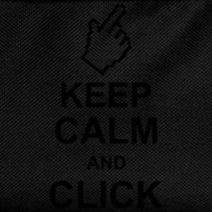 keep_calm_and_click_g1 Felpe - Zaino per bambini