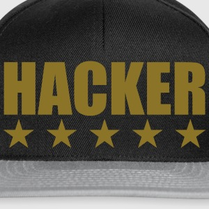 Hacker Tee shirts - Casquette snapback
