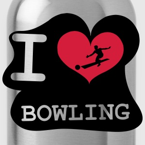 I Love Bowling Tee shirts - Gourde