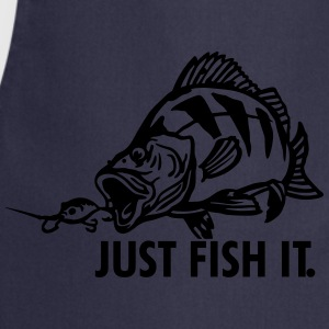 barsch_just_fish_it T-Shirts - Kochschürze