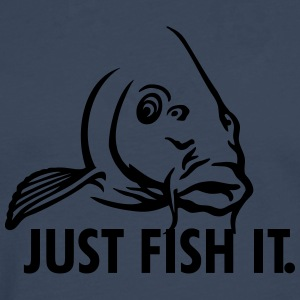 karpfen_just_fish_it T-Shirts - Männer Premium Langarmshirt