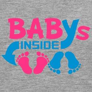 Babies inside twins two siblings T-Shirts - Men's Premium Longsleeve Shirt