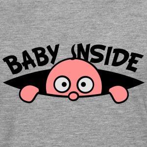Baby look inside of the belly T-Shirts - Men's Premium Longsleeve Shirt