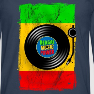 reggae power design 01 Shirts - Men's Premium Longsleeve Shirt