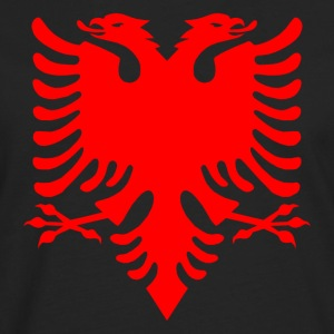 Albanian Eagle Herald Red Tank Tops - Men's Premium Longsleeve Shirt