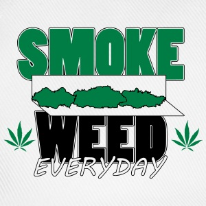 T-shirt Smoke weed rolls - Casquette classique