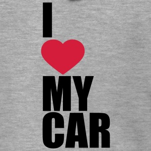 I Love My Car T-Shirts - Men's Premium Hooded Jacket