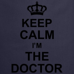 keep_calm_i'm_the_doctor_g1 Camisetas - Delantal de cocina
