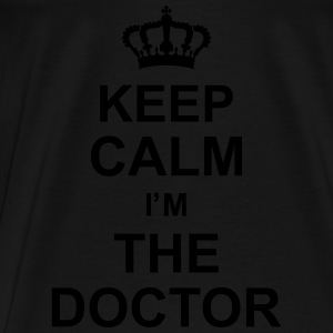 keep_calm_im_the_doctor_g1 Felpe - Maglietta Premium da uomo