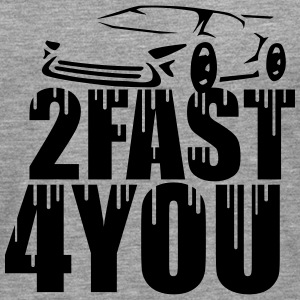Cool 2 Fast 4 You Logo Graffiti Design T-Shirts - Männer Premium Langarmshirt