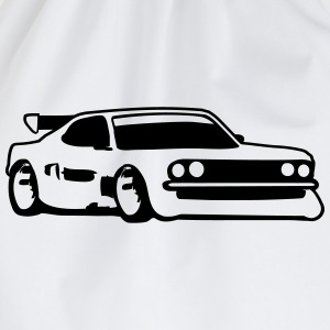 Raceauto tuning auto T-shirts - Gymtas