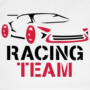 Racing Team Design T-Shirts - Baseball Cap