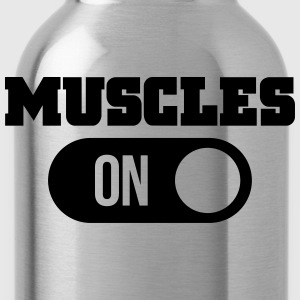 muscles T-shirts - Drinkfles