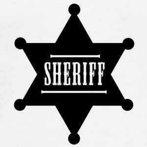 sheriff button - Mannen Premium T-shirt