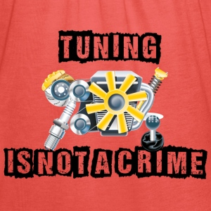 Tuning is not a Crime T-Shirts - Frauen Tank Top von Bella